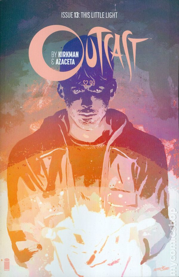 Outcast Comic Book