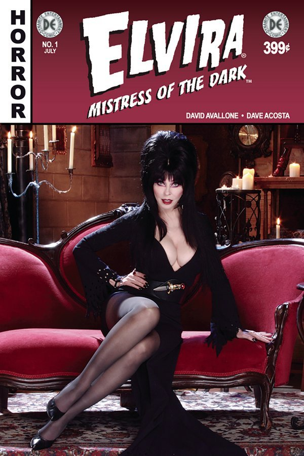 Elvira Mistress Of The Dark 1 Subscription Cover 2018