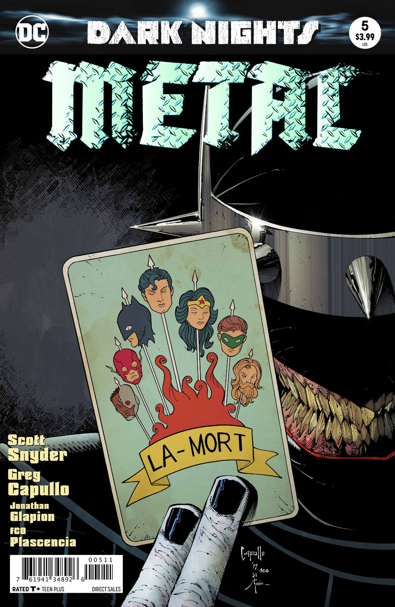 Dark nights : Metal #5 First Printing Foil Cover