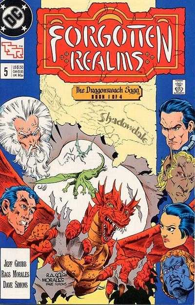 Forgotten Realms #5 (DC 1989 Dungeons and Dragons Series)
