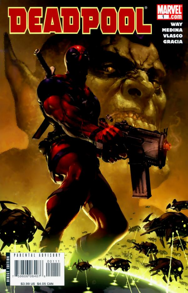 Deadpool #1 (2008 2nd Series)