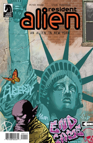 Resident Alien : An Alien in New York #1