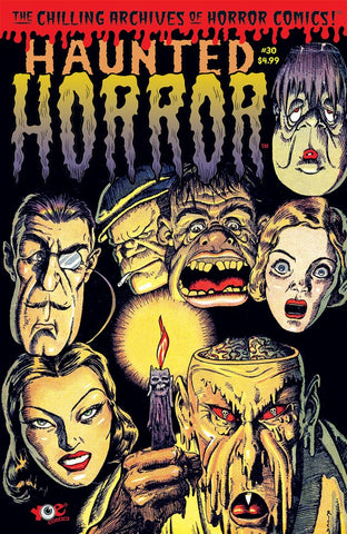 Haunted Horror #30 IDW (Yoe Comics)