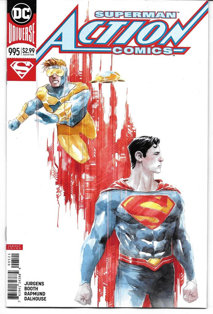Action Comics 995 (Cover B) 2016 Series