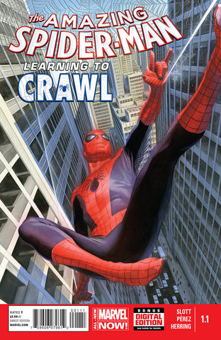 Amazing Spider-Man #1.1 Learning to Crawl 2014 Volume 3