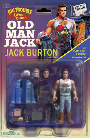 Big Trouble in Little China : Old Man Jack #1 Action Figure Variant