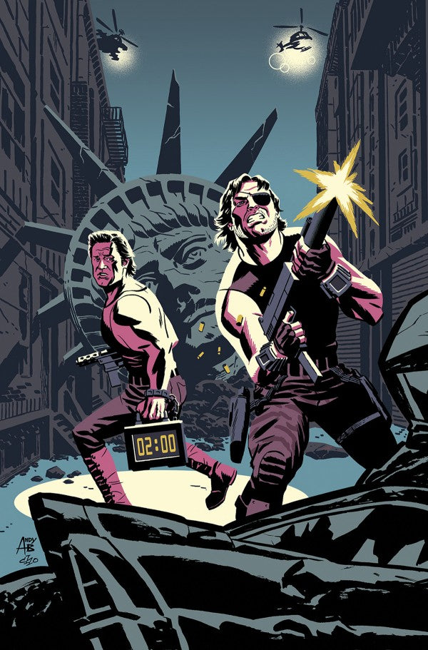 Big Trouble in Little China / Escape From New York #1 East Variant