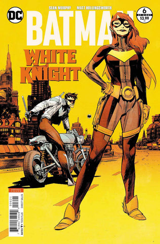 Batman White Knight #6 Cover B (Batgirl / Nightwing) Signed by SGM
