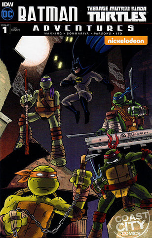 Batman / TMNT Adventures #1 Coast City Comics RE Variant