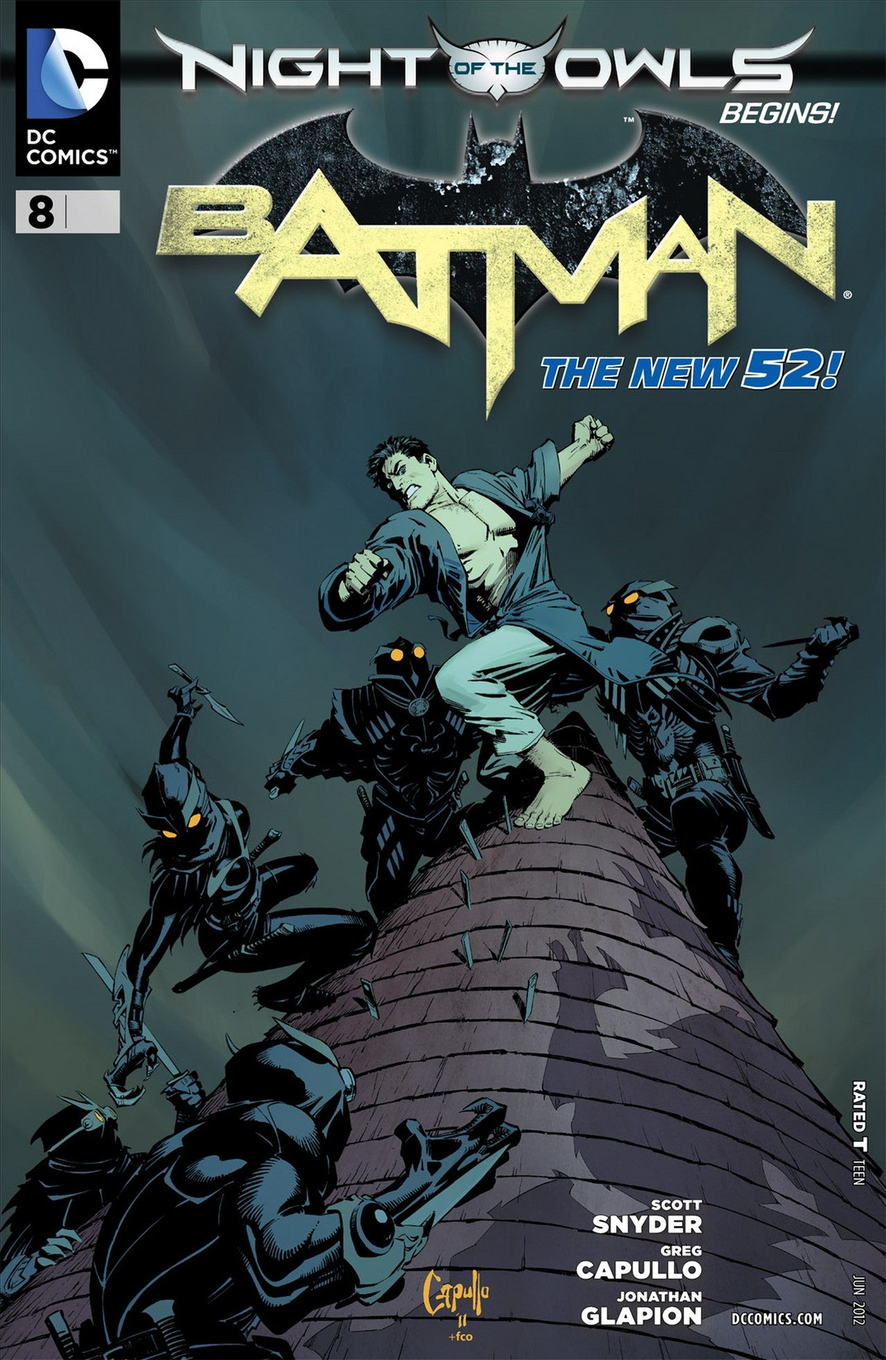 Batman #8 New 52 Snyder/Capulo