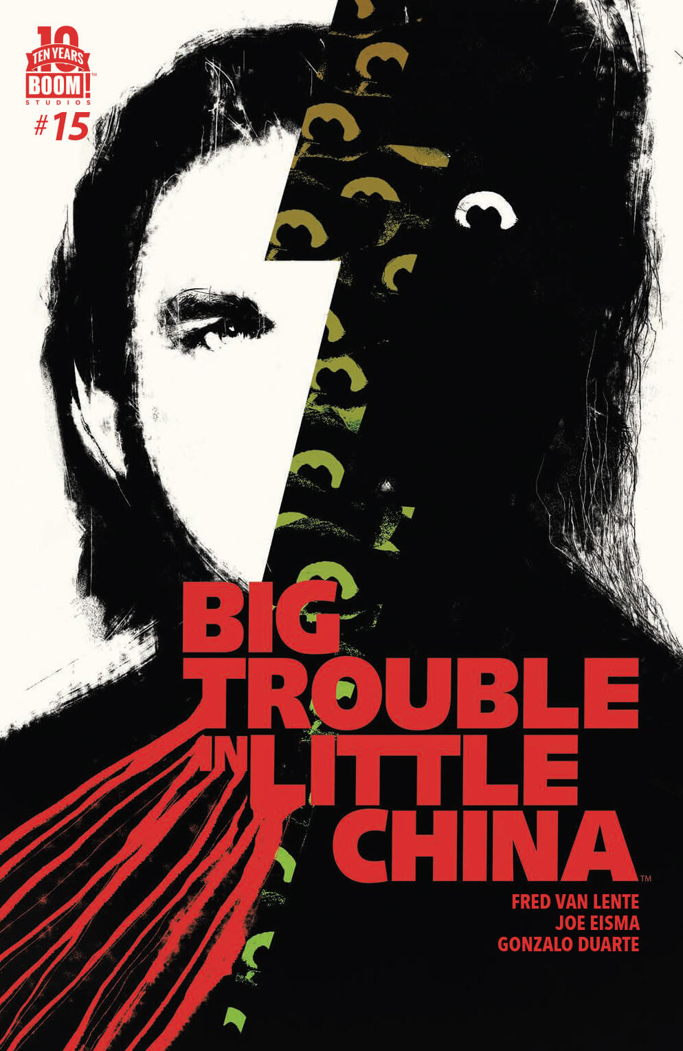 Big Trouble in Little China #15 Boom Studios