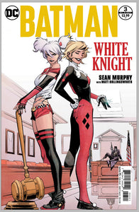 Batman : White Knight #3 Autographed by Sean Gordon Murphy Cover B Harleys First Neo Joker
