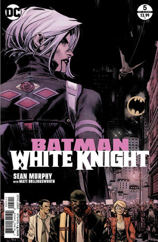 Batman White Knight #5 Cover A (Neo-Joker Cover) Signed by SGM