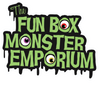 "Fun Box Monster Emporium Eyeballs Die-Cut Sticker:  5.5"" X 4.5"" (Chad Pennell)"