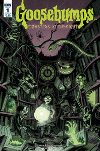 GOOSEBUMPS : MONSTERS AT MIDNIGHT #1 Cover B