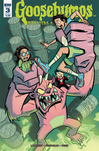GOOSEBUMPS : MONSTERS AT MIDNIGHT #3 Cover A