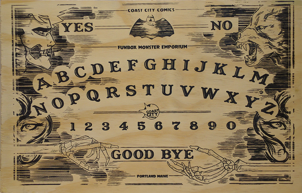 Coast City Ouija Board