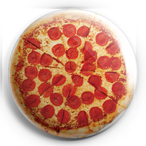 "Pizza 1.25"" Pin"