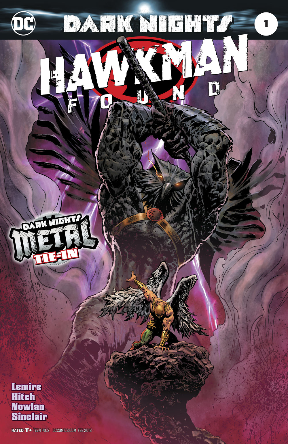 Dark Nights : Hawkman Found #1 (Foil Cover)