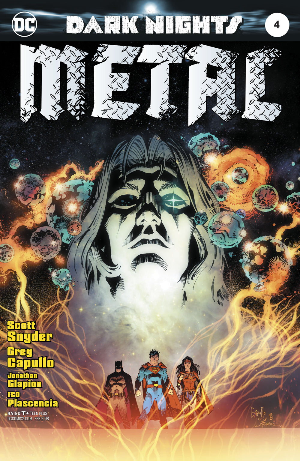 Dark nights : Metal #4 First Printing Foil Cover