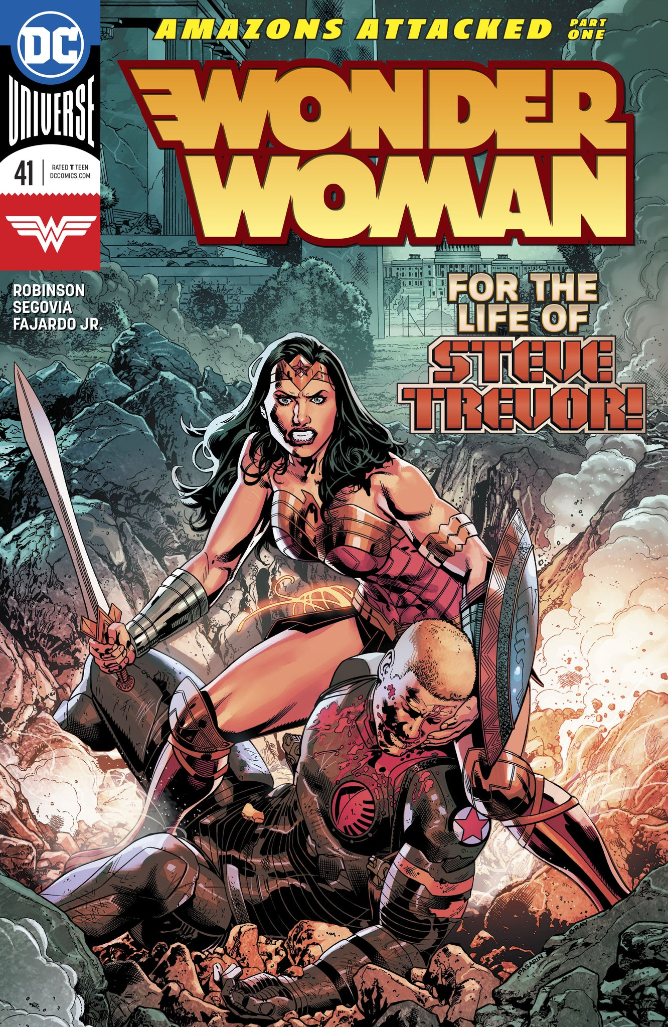 Wonder Woman #41 (2016 Series) Cover A