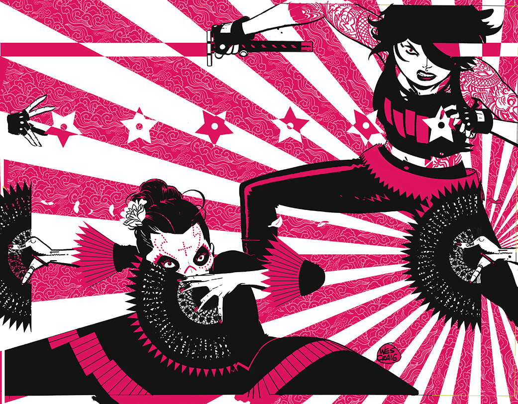 Deadly Class #32 Wes Craig Virgin Wraparound Cover (Love Like Blood Part 1 of 5)