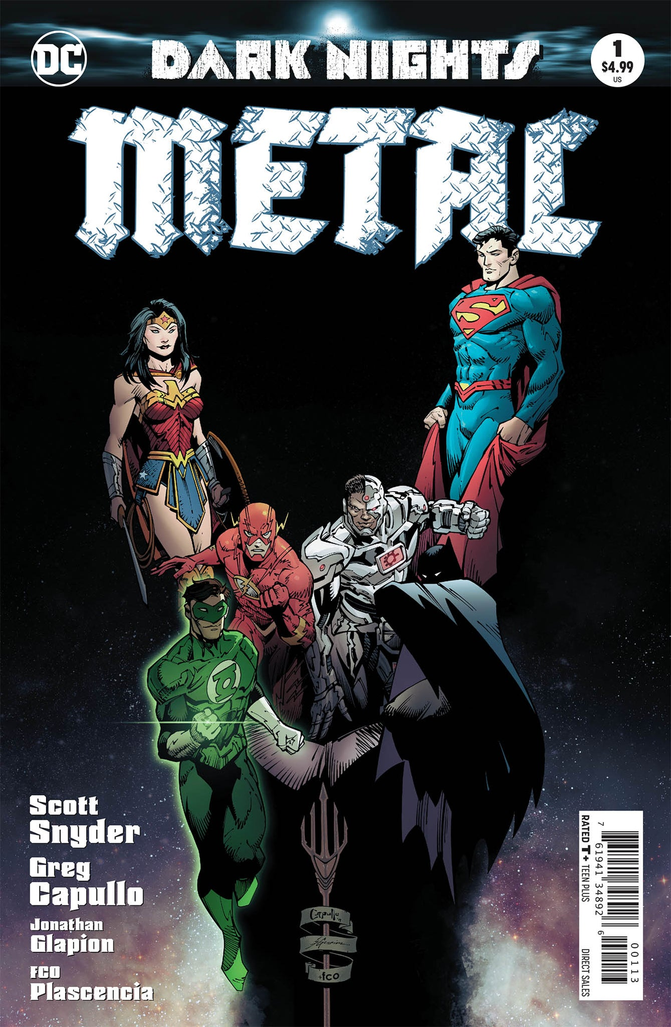 Dark Nights : Metal #1 3rd Printing