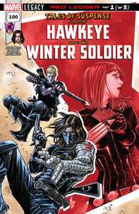 Tales of Suspense #100 : Hawkeye and Bucky Barnes Winter Soldier (Part 1)
