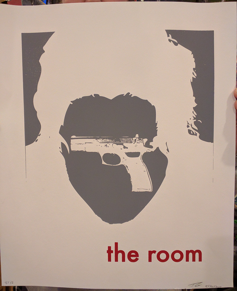 The Room Silkscreen 2 Color Poster