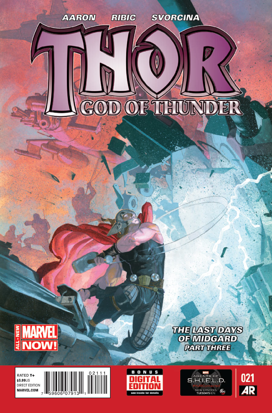 Thor : God of Thunder #21 (2012 Jason Aaron)