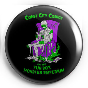 "Coast City Comic Mummy 1.25"" Pin"