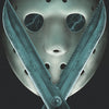 "FRIDAY THE 13TH PART V: A NEW BEGINNING Soundtrack Double ""Imposter Jason"" Blue Vinyl"