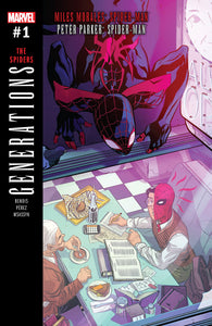 "Marvel Generations : Miles Morales / Peter Parker Spider-man ""The Spiders"""