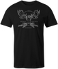The All-Seeing Moose: Baphomoose T-shirt