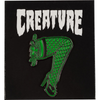 Creature Skateboards : Burlesque Green / Black Enamel Lapel Pin