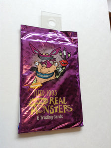 Aaahh!!! Real Monsters Trading Card Pack! Sealed!