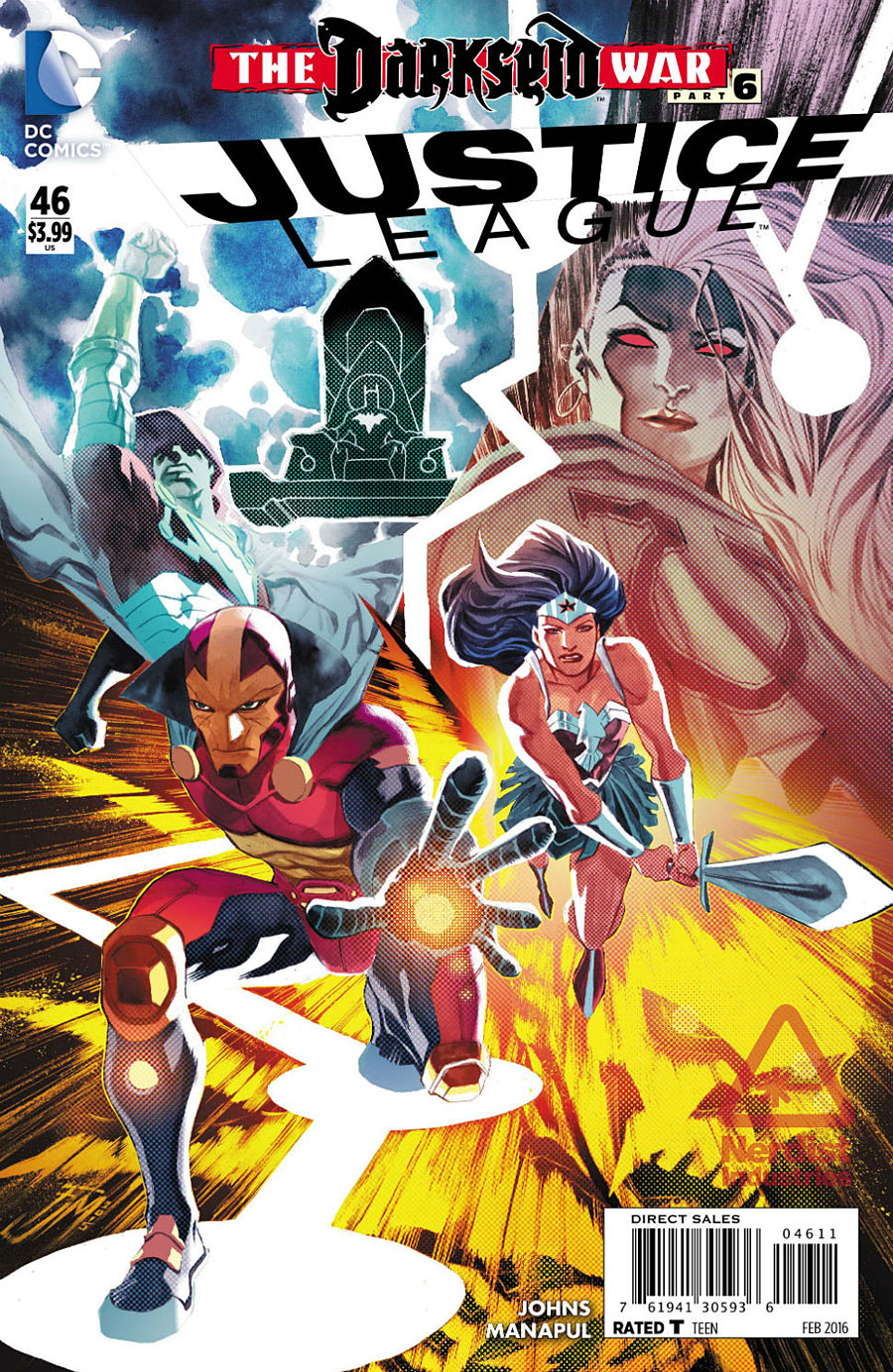 JUSTICE LEAGUE #46 (2011 New 52 Series)