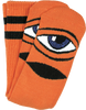 TOY MACHINE : TM SECT EYE CREW SOCKS-ORANGE 1 pair