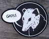 Embroidered Patch : Clementine-Gross (Possum)