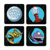 Mystery Science Theater 3000 :  COASTER SET (4 per Set) MST3K