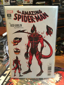 Amazing Spider-Man 797 Ed McGuinness Red Goblin Variant