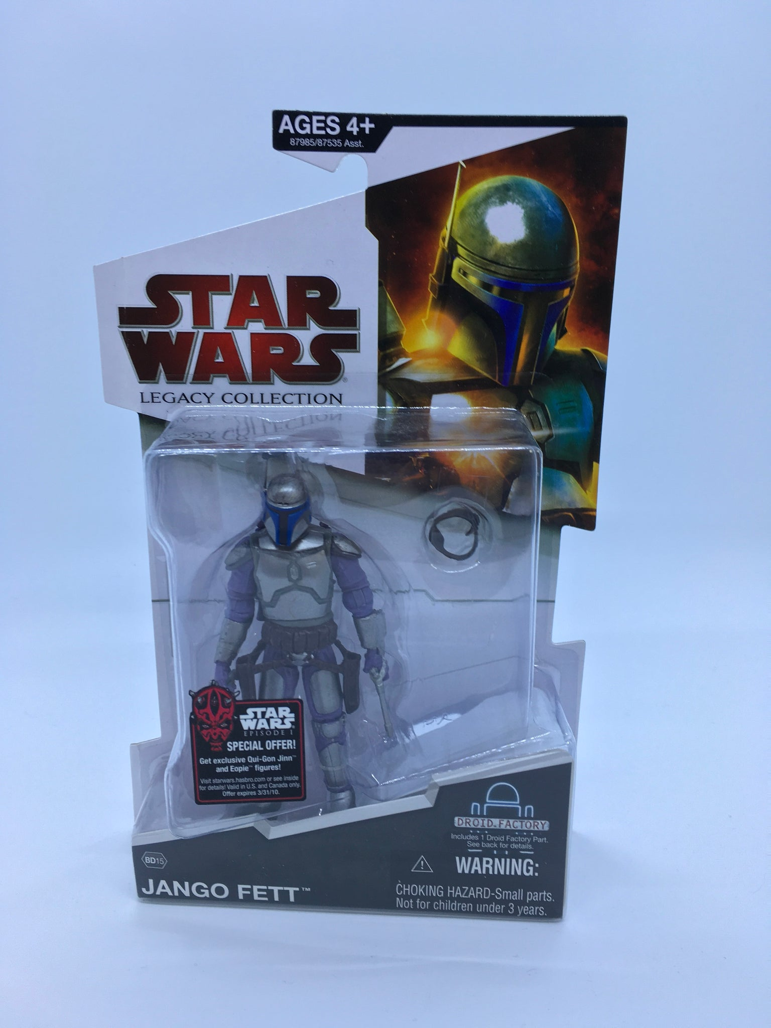 Star Wars Legacy Collection Jango Fett Build-a-Droid MOC