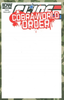 G.I. JOE: COBRA WORLD ORDER - PRELUDE #1 Blank Sketch Variant