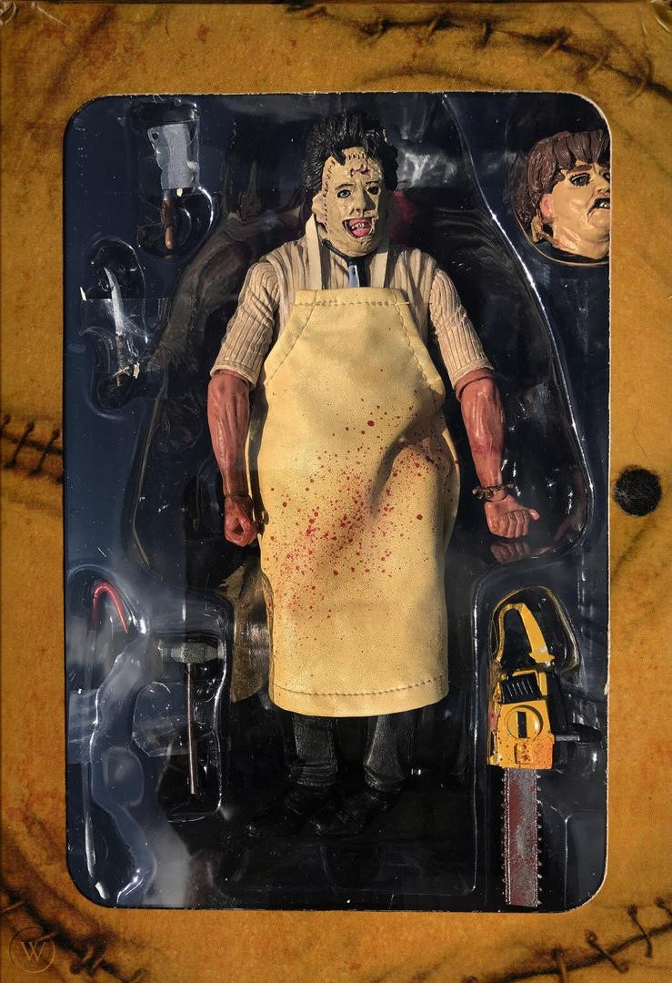 Ultimate Leatherface 40th Action Figure Neca TEXAS CHAINSAW MASSACRE