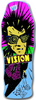 VISION PSYCHO STICK MC DK-10x30.2 Turquoise Modern Style Concave