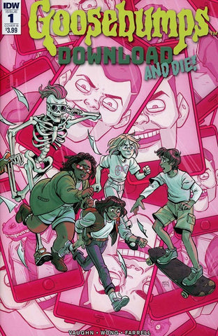 Goosebumps : Download and Die! #1 Cover B