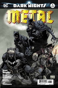 Dark nights : Metal #6D First Printing Variant Cover