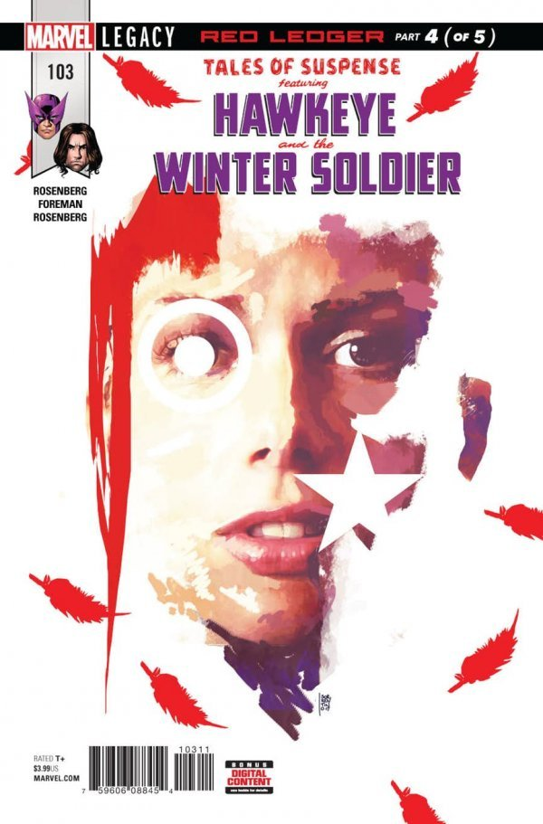 Tales of Suspense #103 : Hawkeye and Bucky Barnes Winter Soldier (Part 4)