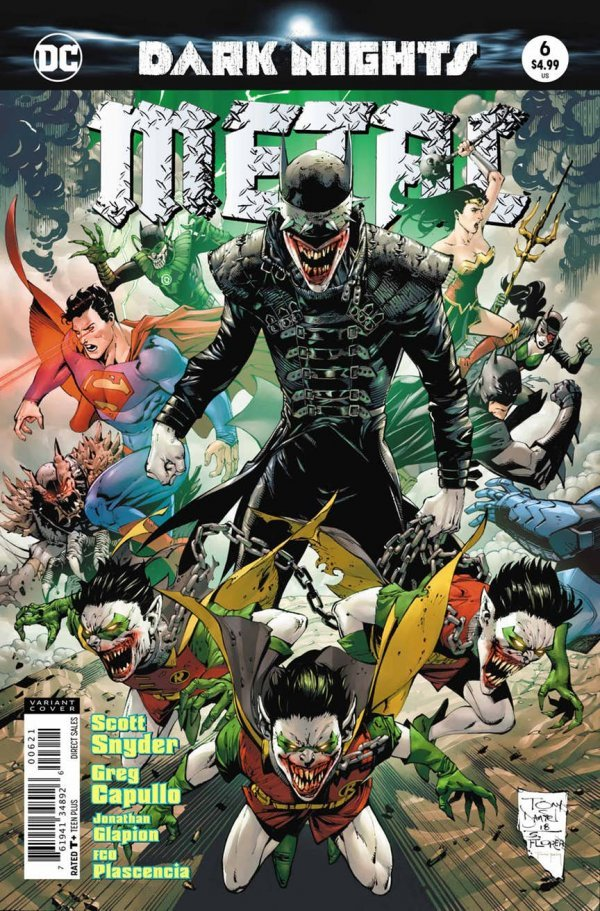 Dark nights : Metal #6B First Printing Variant Cover