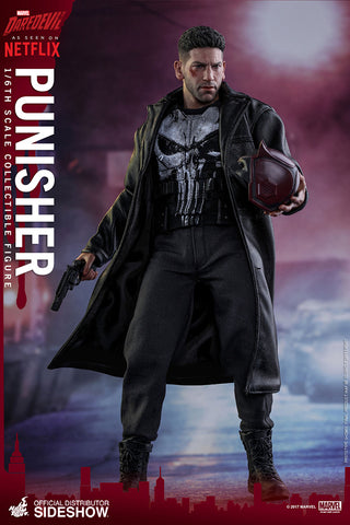 Marvel Punisher Sixth Scale Figure by Hot Toys Mint and Unopened